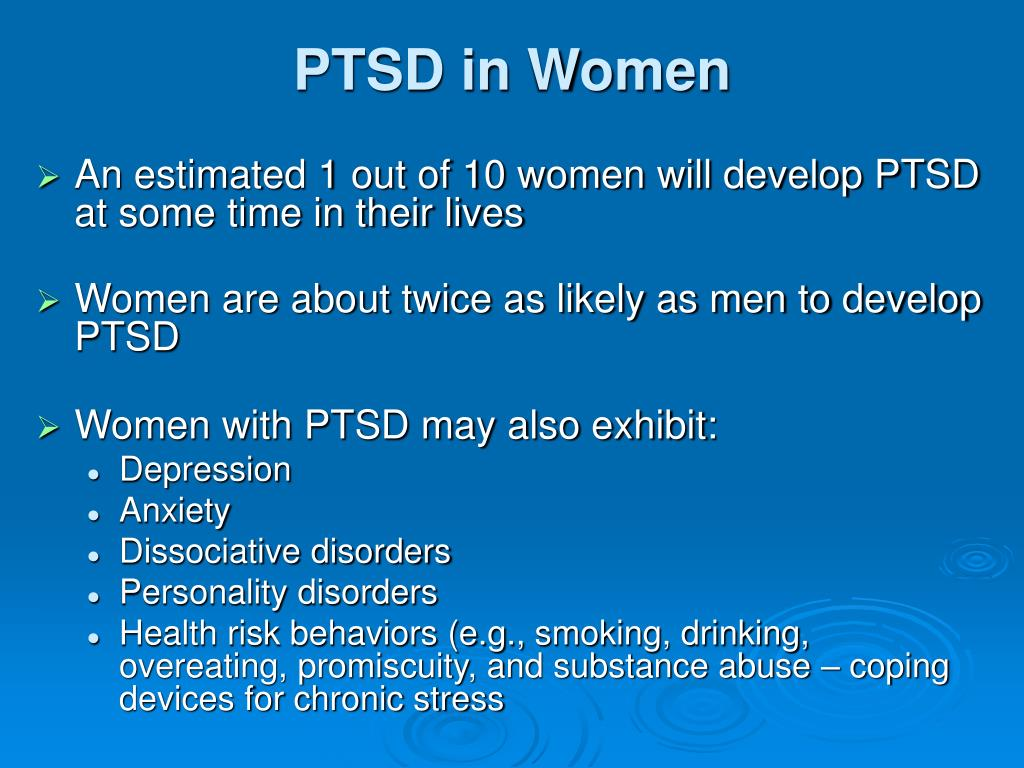 PTSD in Women