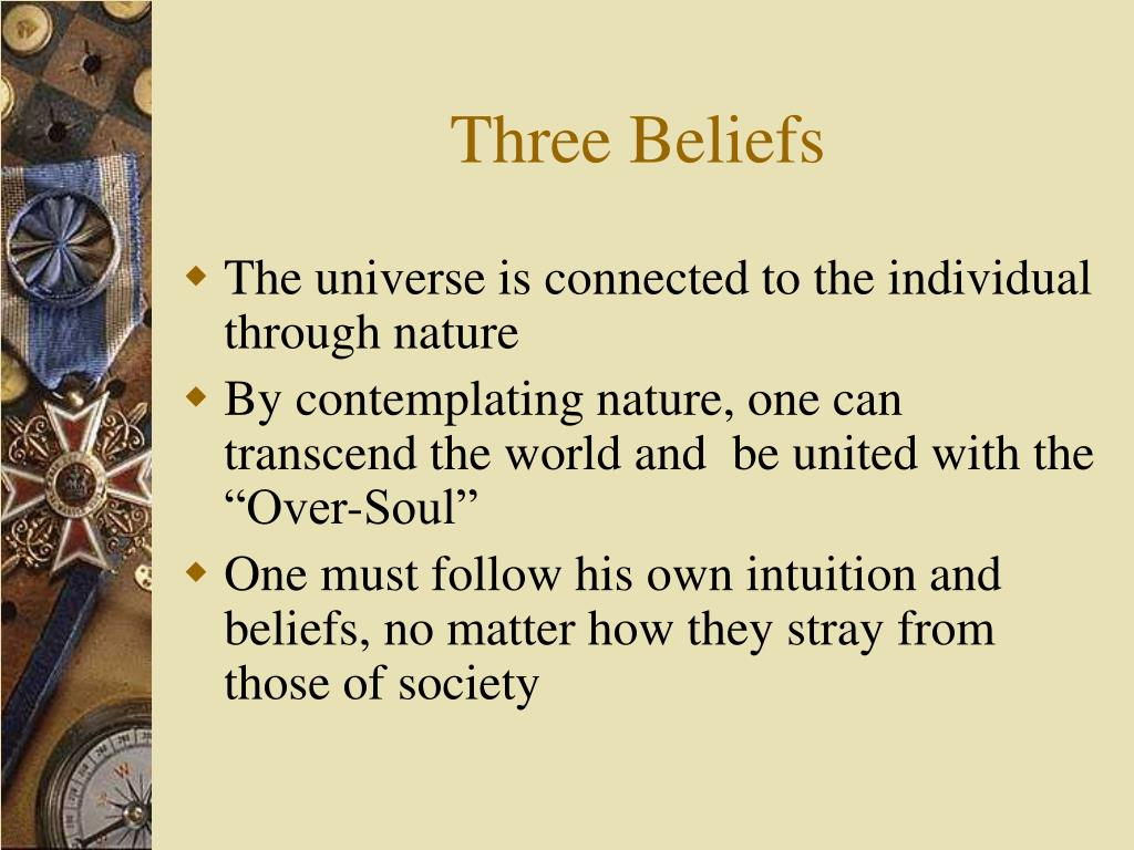 Three Beliefs