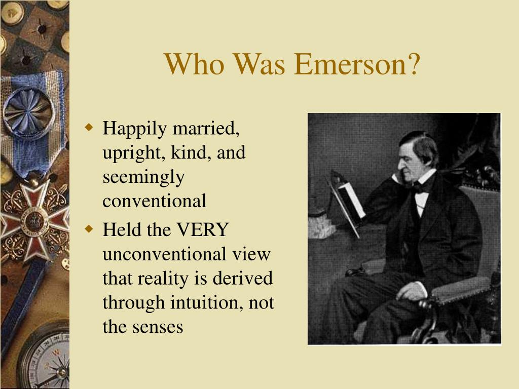 Who Was Emerson?