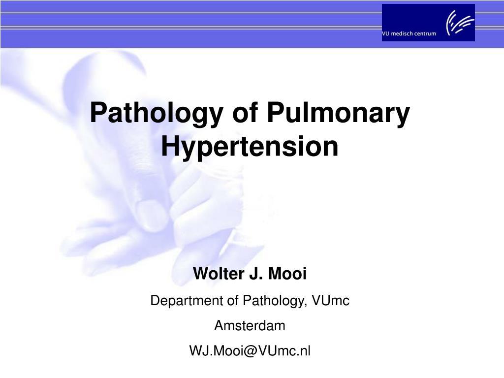 Pathology of Pulmonary Hypertension