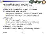 another solution tinyos 2 0