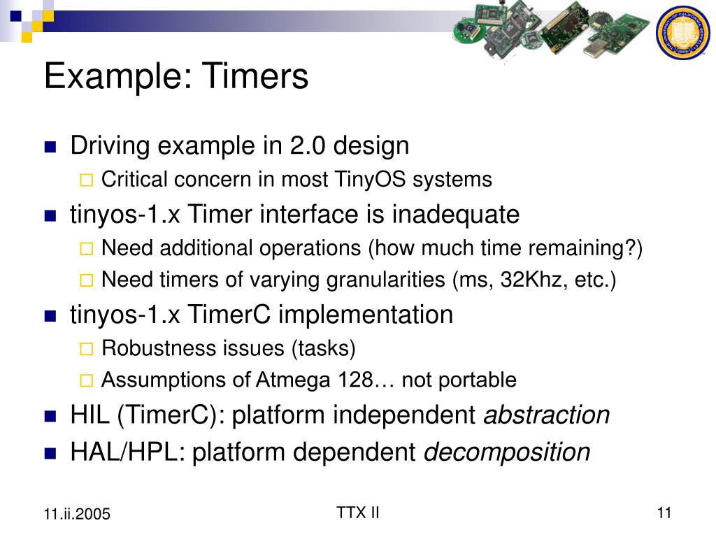 Example: Timers