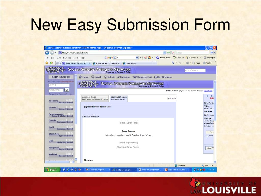 New Easy Submission Form