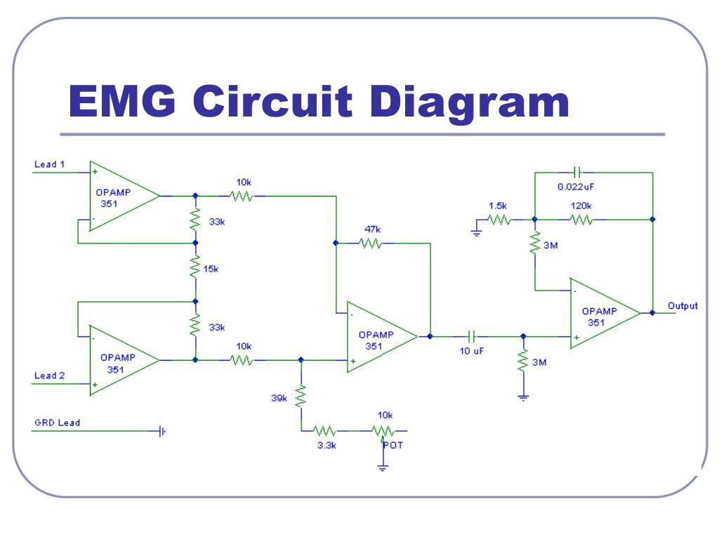 EMG Circuit Diagram