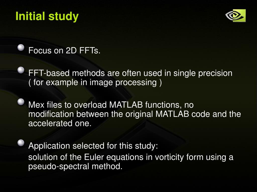 Initial study