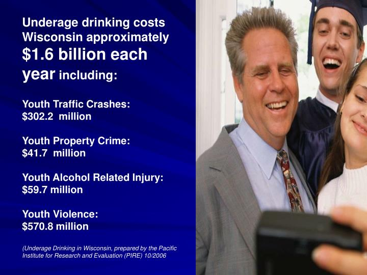 Underage drinking costs