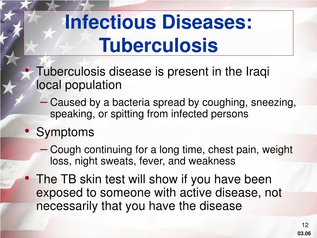 Infectious Diseases: Tuberculosis