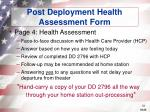 post deployment health assessment form31