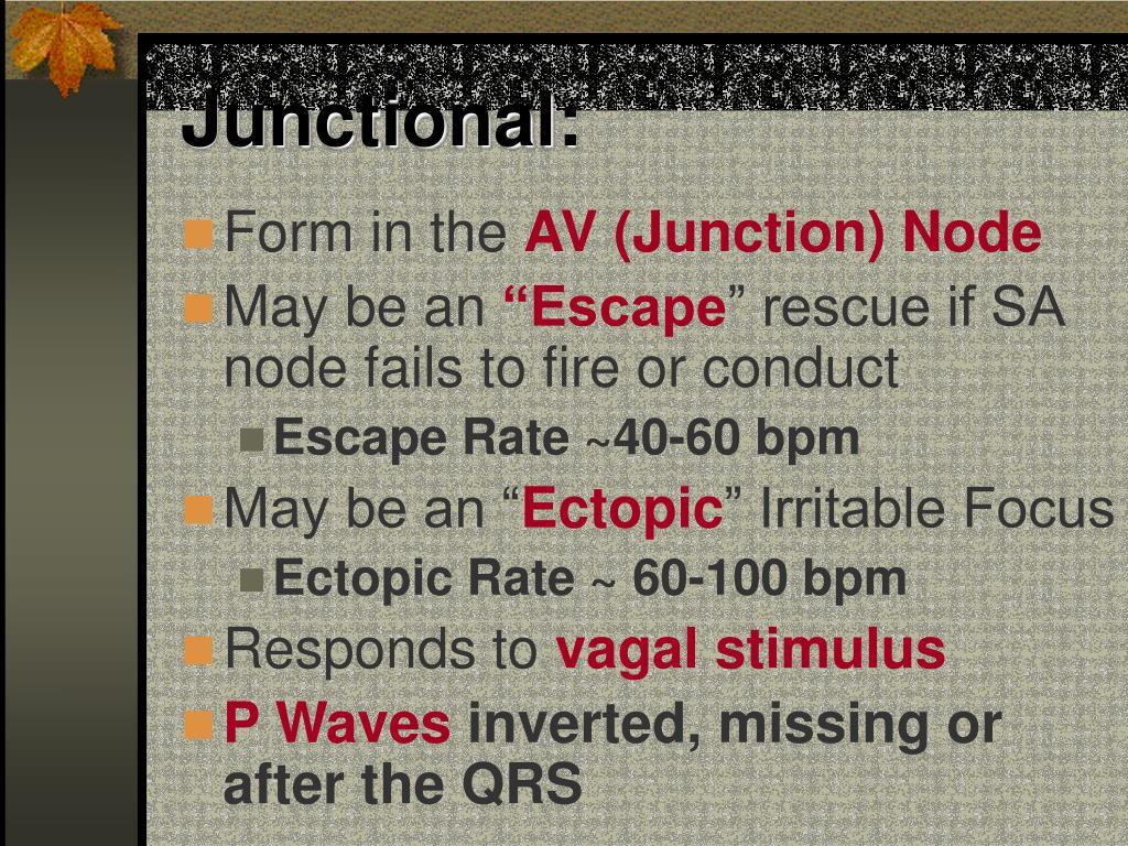 Junctional: