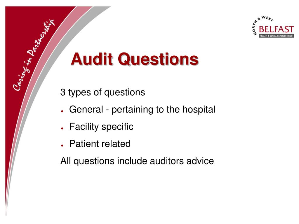 Audit Questions