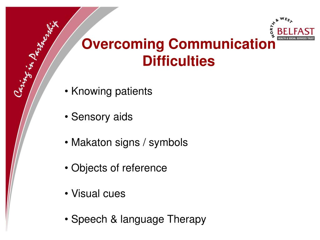 Overcoming Communication Difficulties