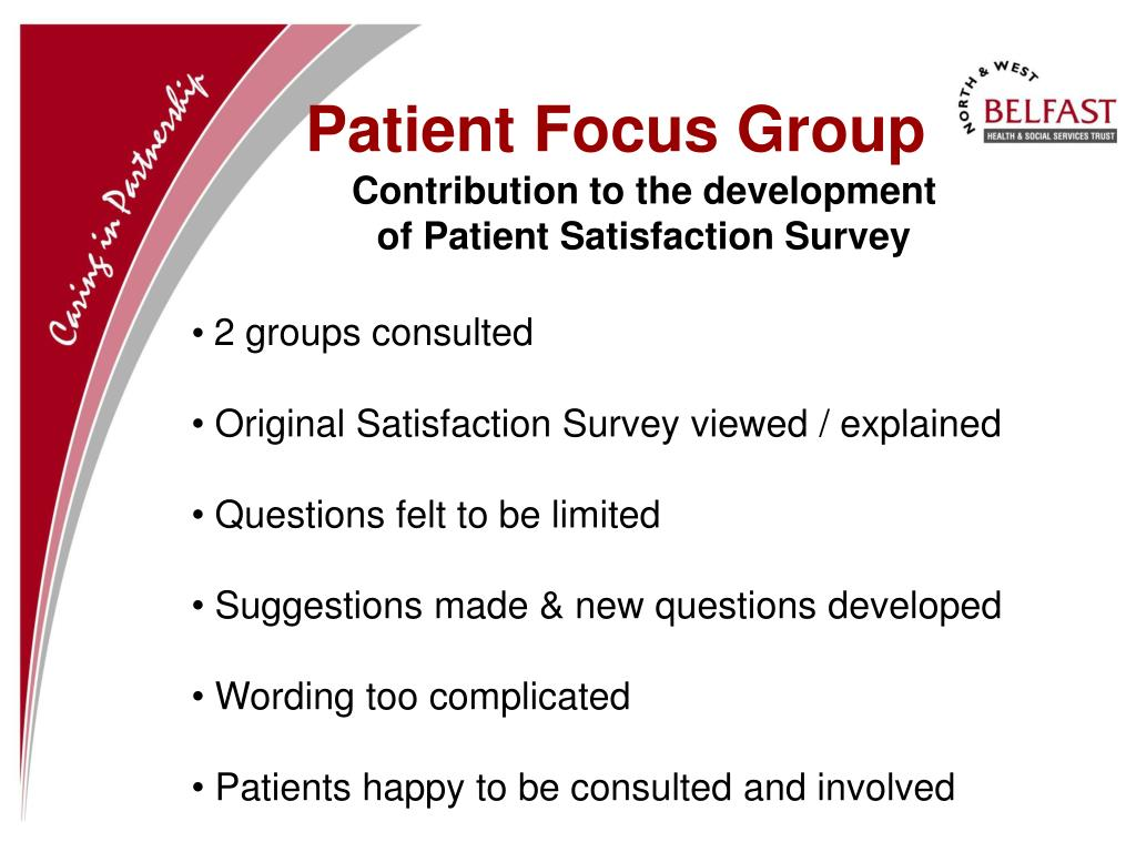 Patient Focus Group