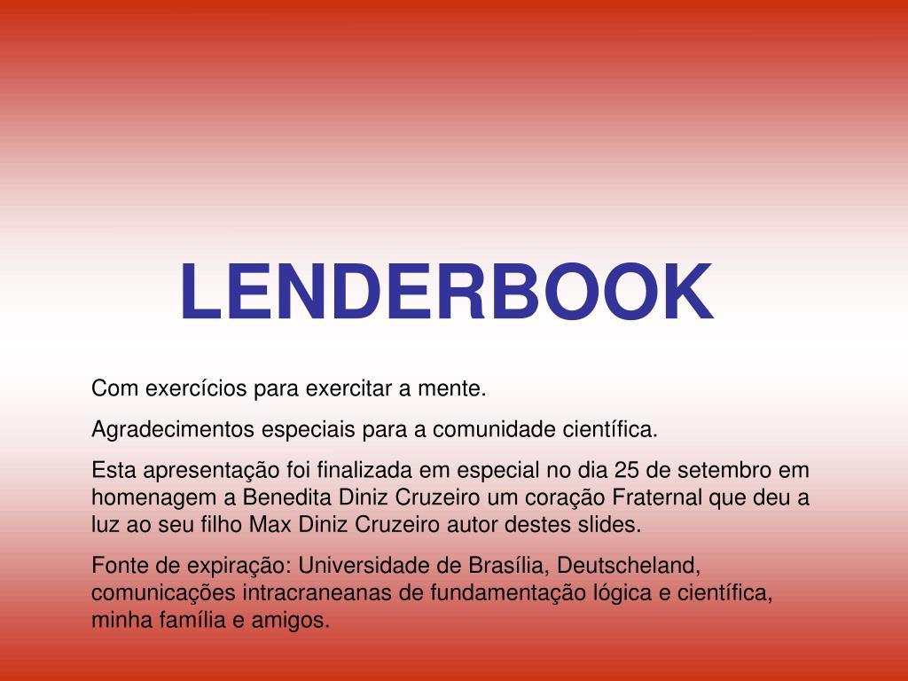 LENDERBOOK
