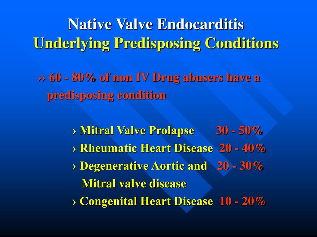 Native Valve Endocarditis