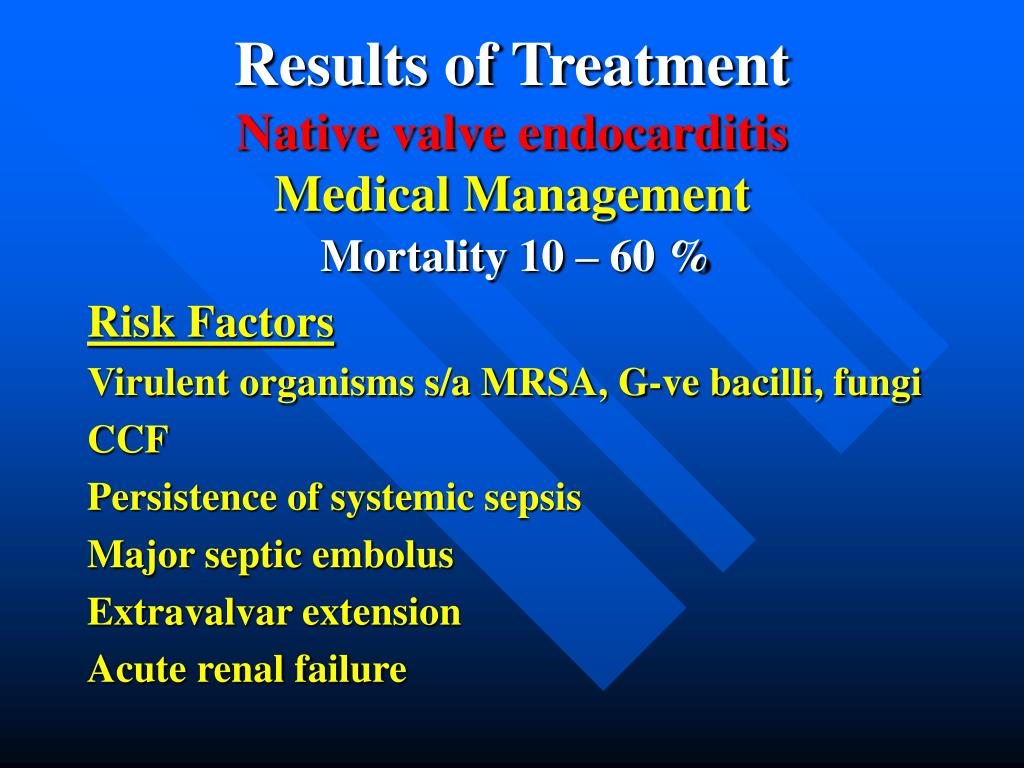 Results of Treatment