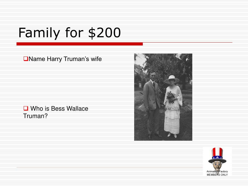 Family for $200