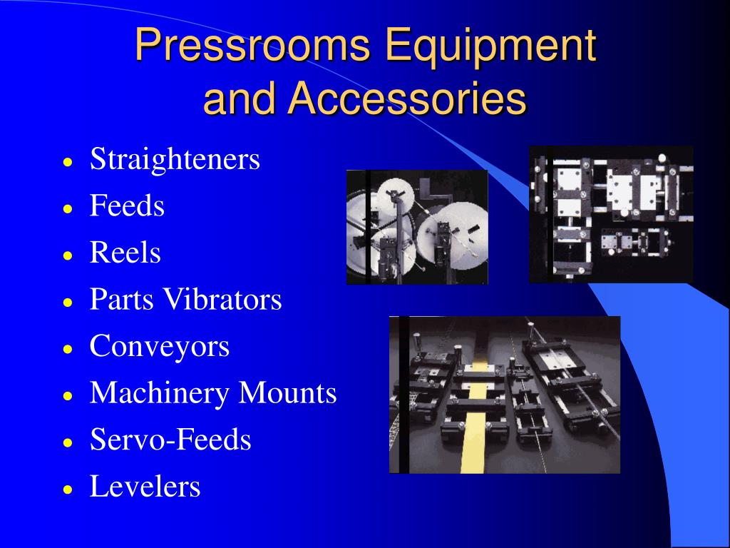 Pressrooms Equipment