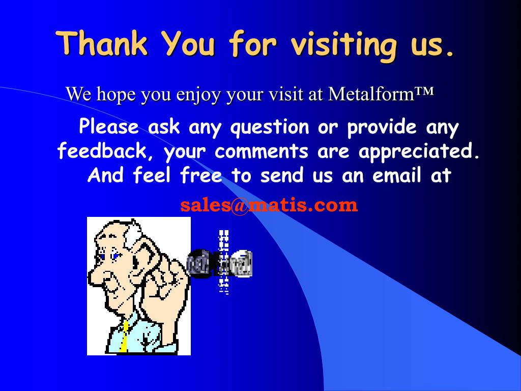 Thank You for visiting us.