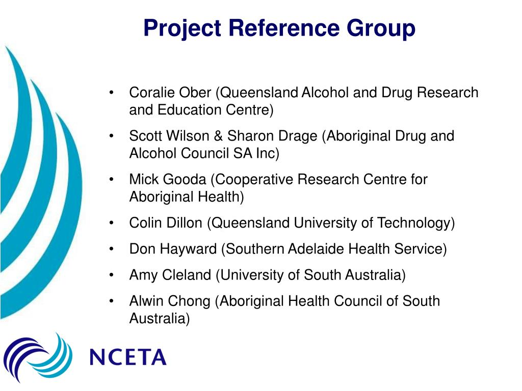 Project Reference Group