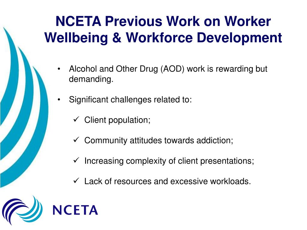 NCETA Previous Work on Worker