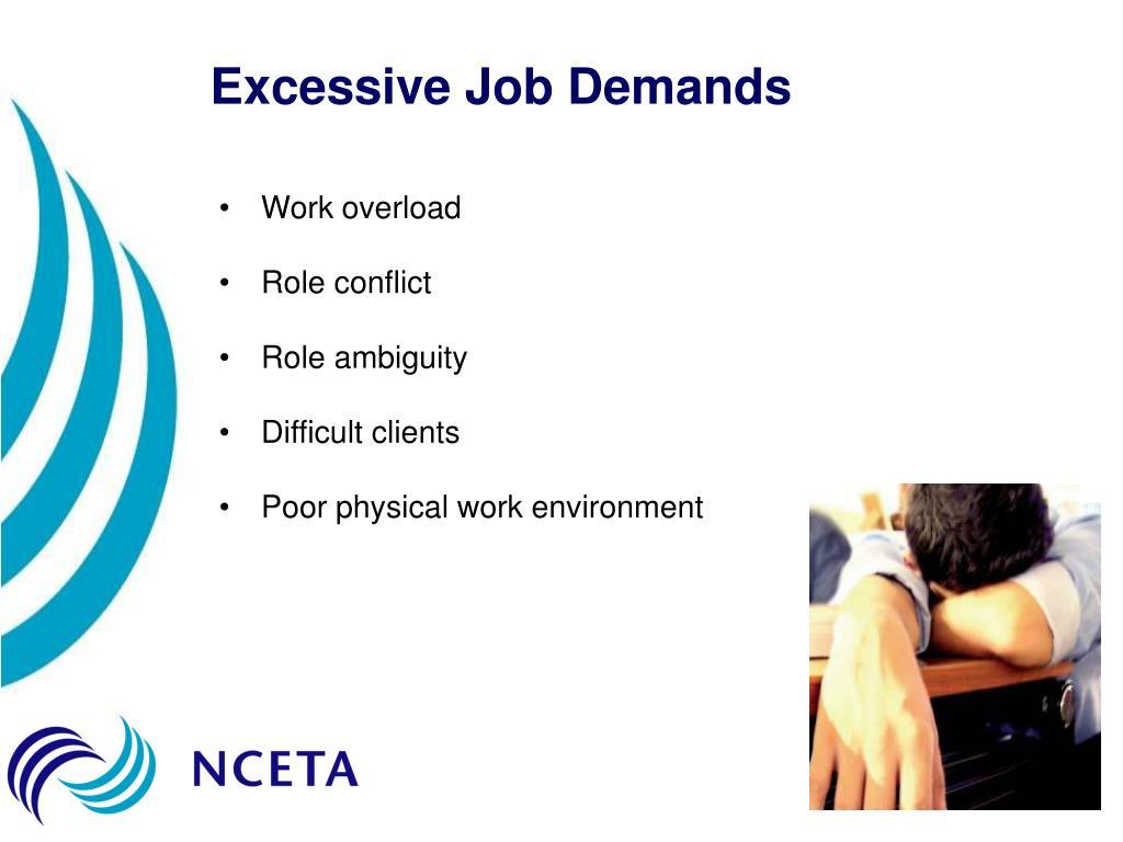 Excessive Job Demands