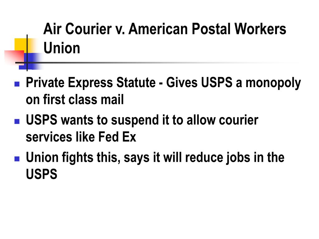 Air Courier v. American Postal Workers Union