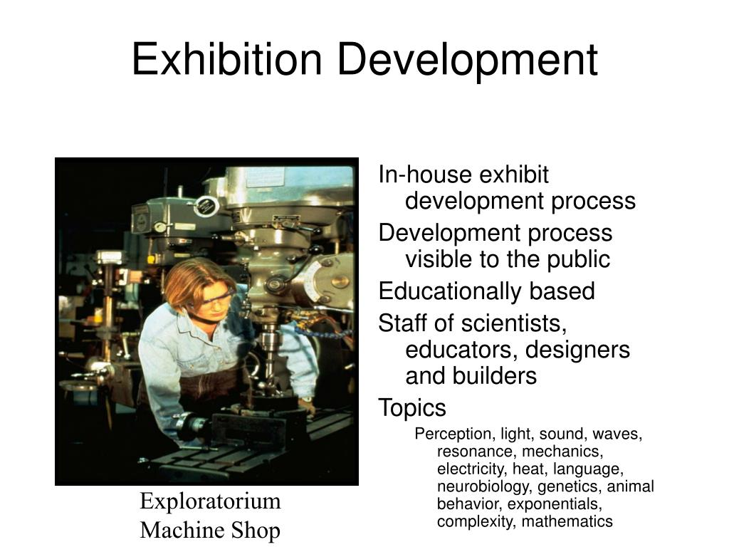 Exhibition Development