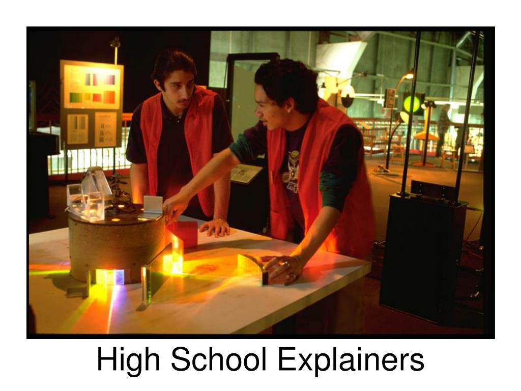 High School Explainers