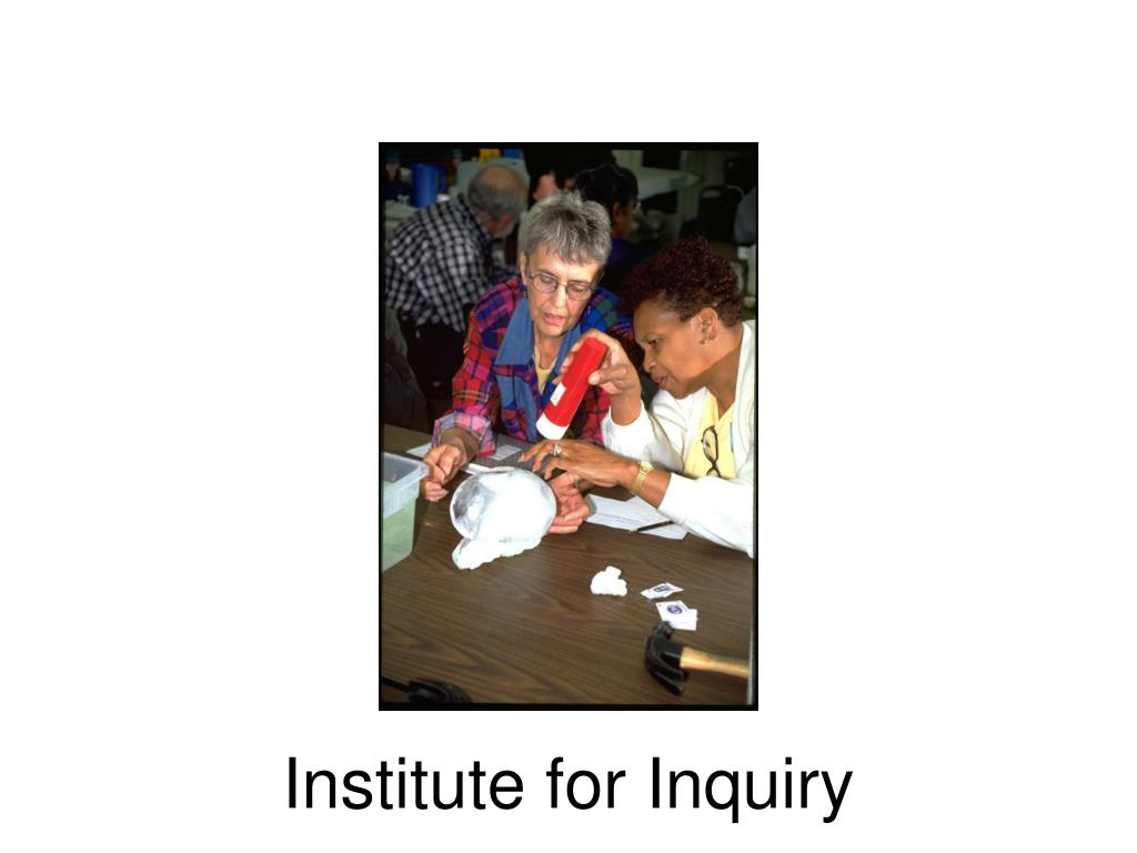 Institute for Inquiry