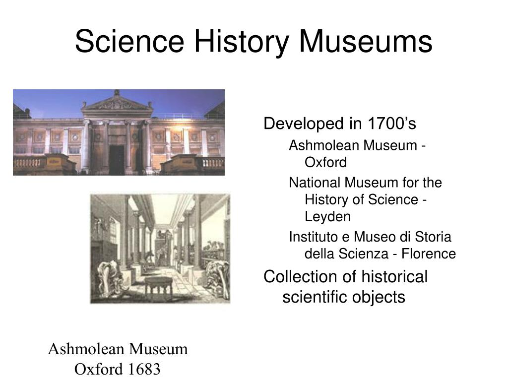 Science History Museums
