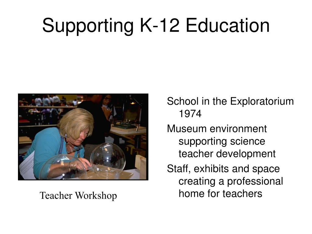 Supporting K-12 Education