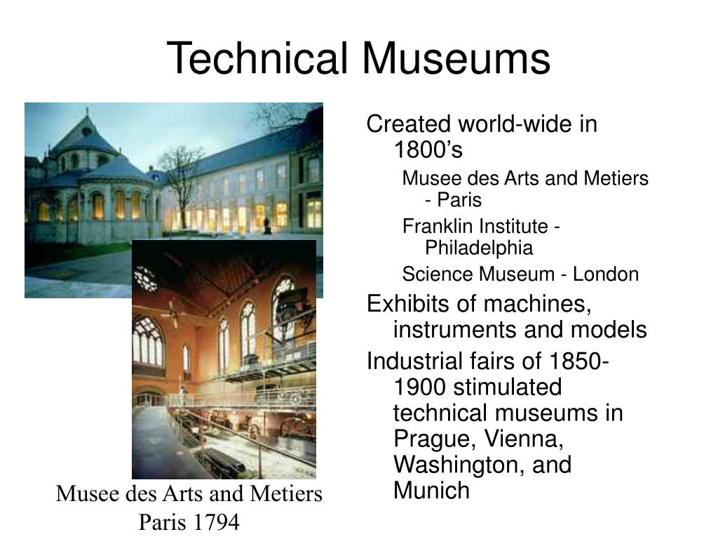 Technical Museums