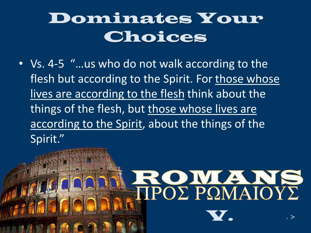 Dominates Your Choices