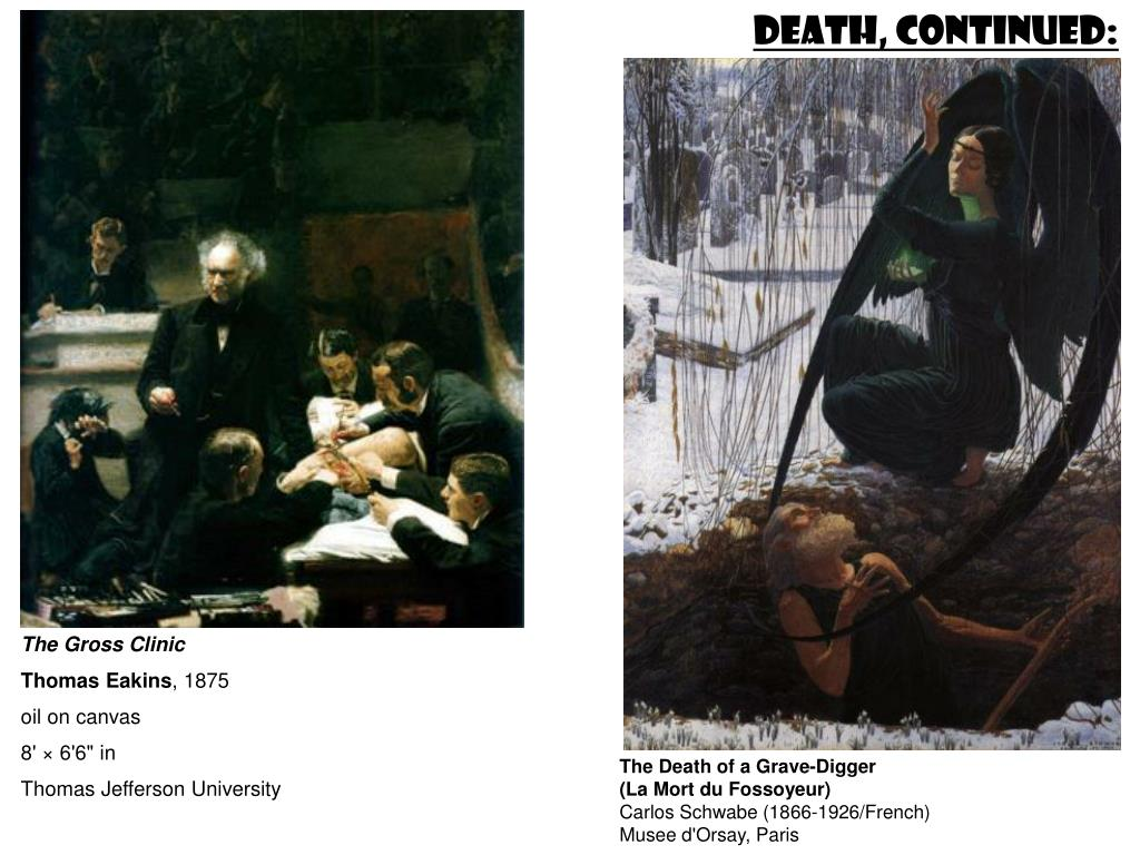Death, continued: