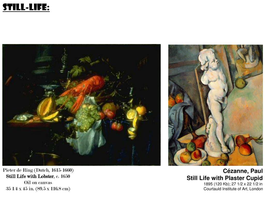 Still-life: