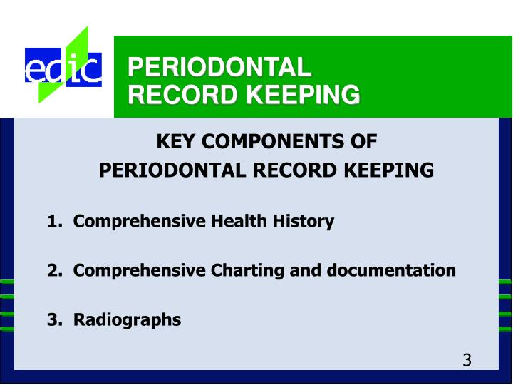 Periodontal record keeping3