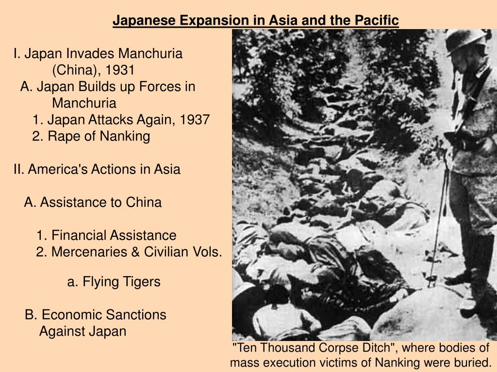 Japanese Expansion in Asia and the Pacific