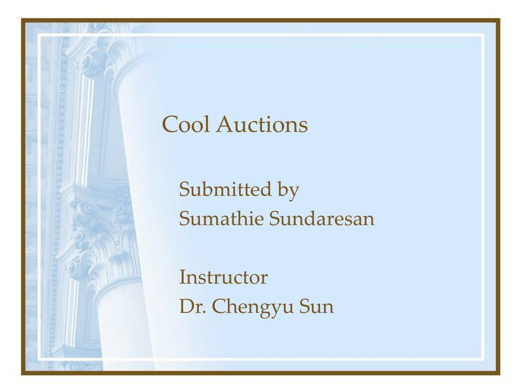 cool auctions