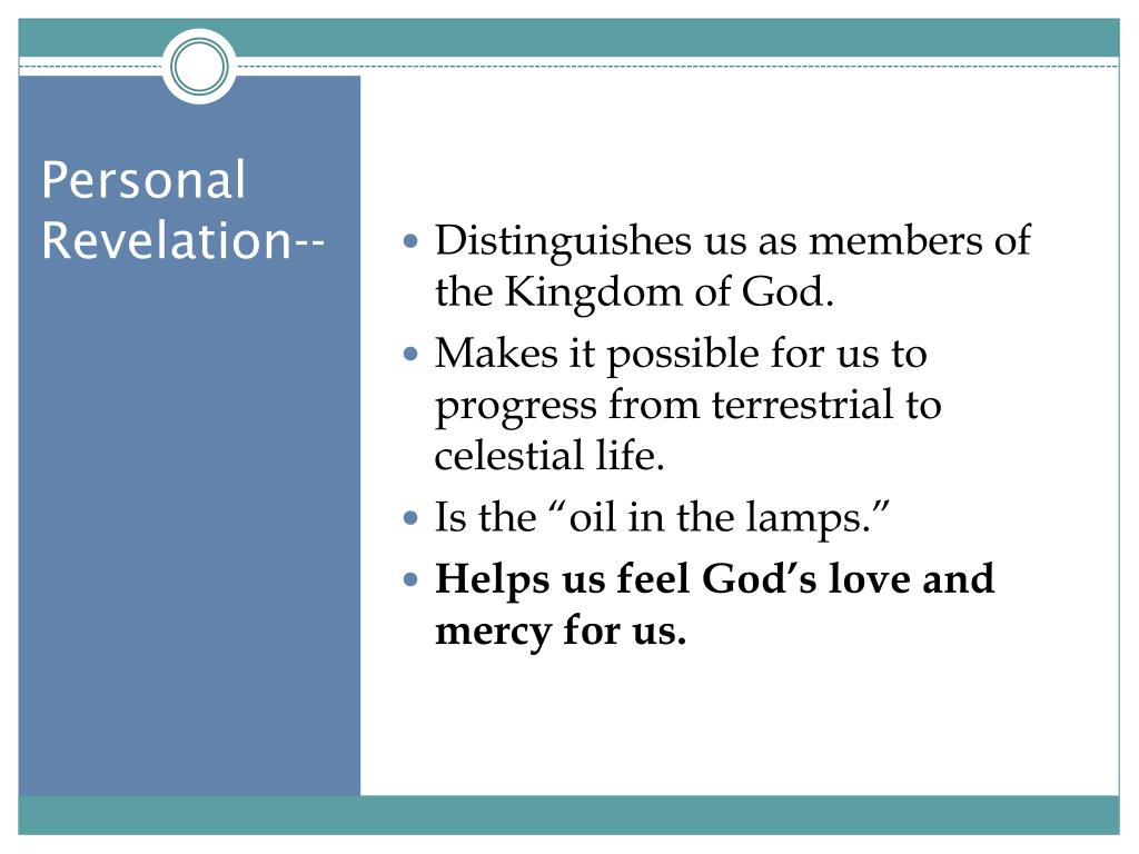 Distinguishes us as members of the Kingdom of God.