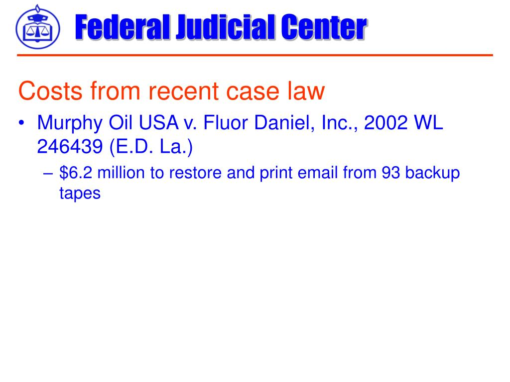 Costs from recent case law