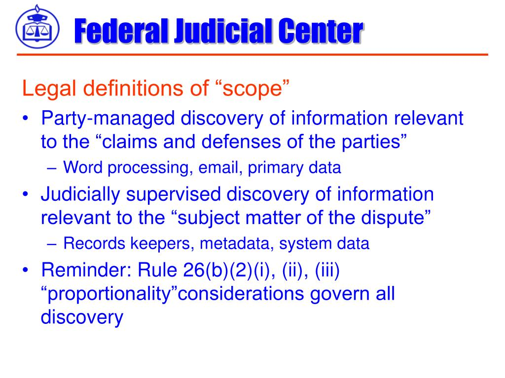 """Legal definitions of """"scope"""""""