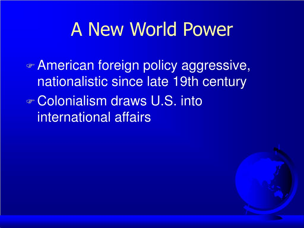 A New World Power