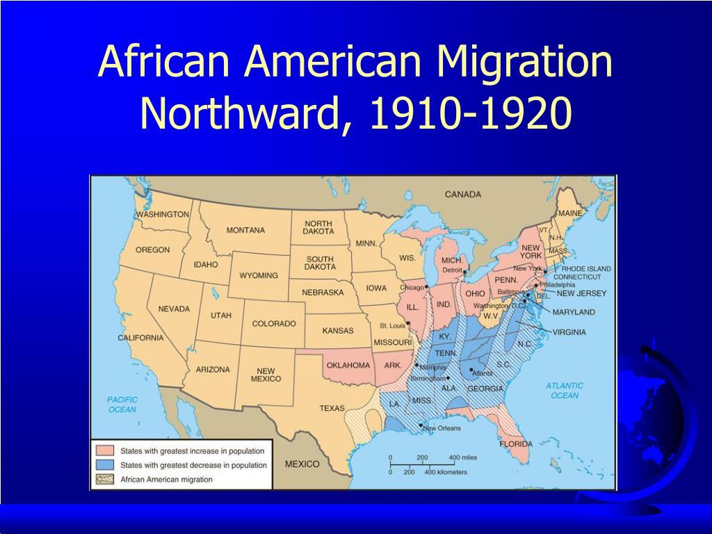 African American Migration Northward, 1910-1920