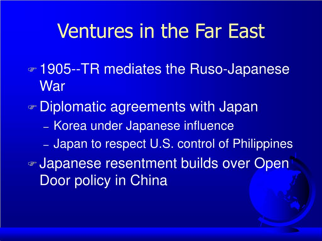 Ventures in the Far East