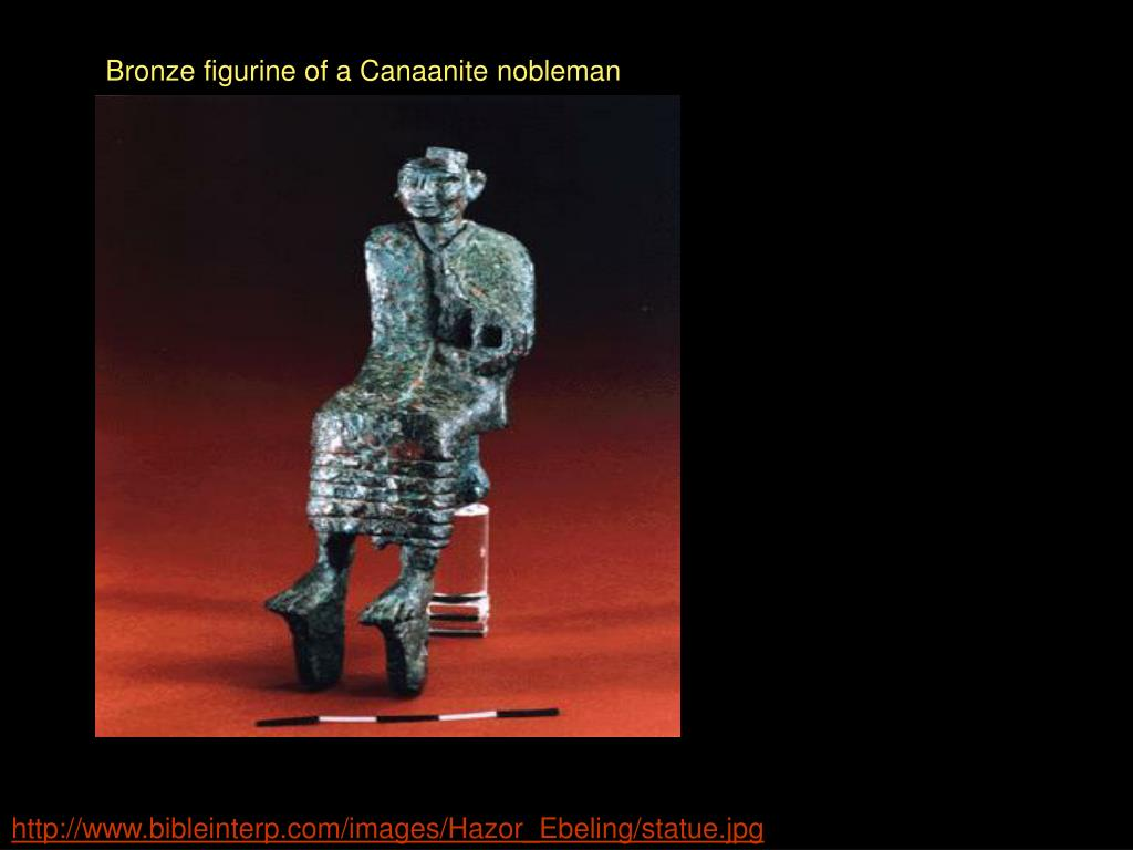Bronze figurine of a Canaanite nobleman