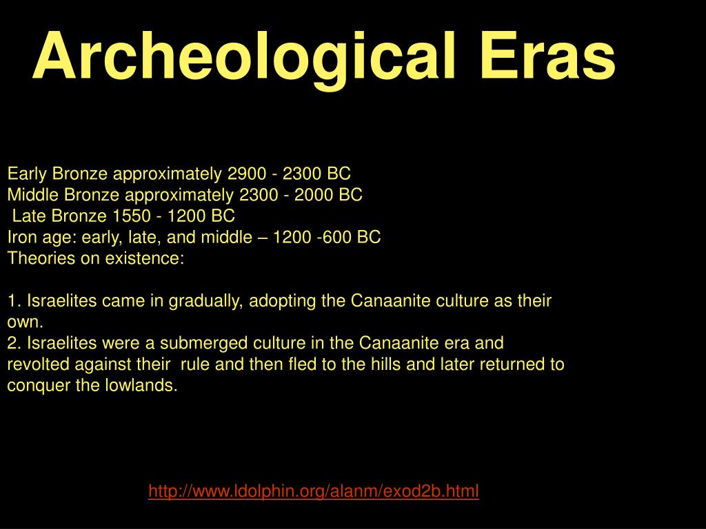 Archeological Eras