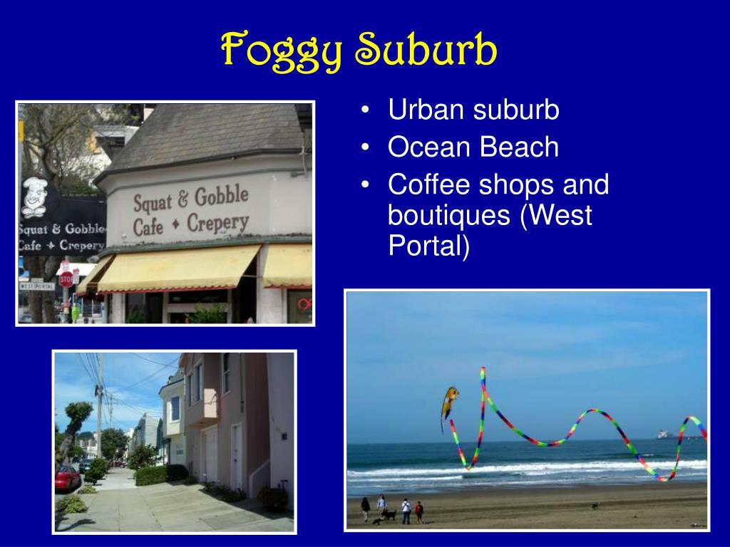 Urban suburb