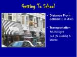 getting to school53