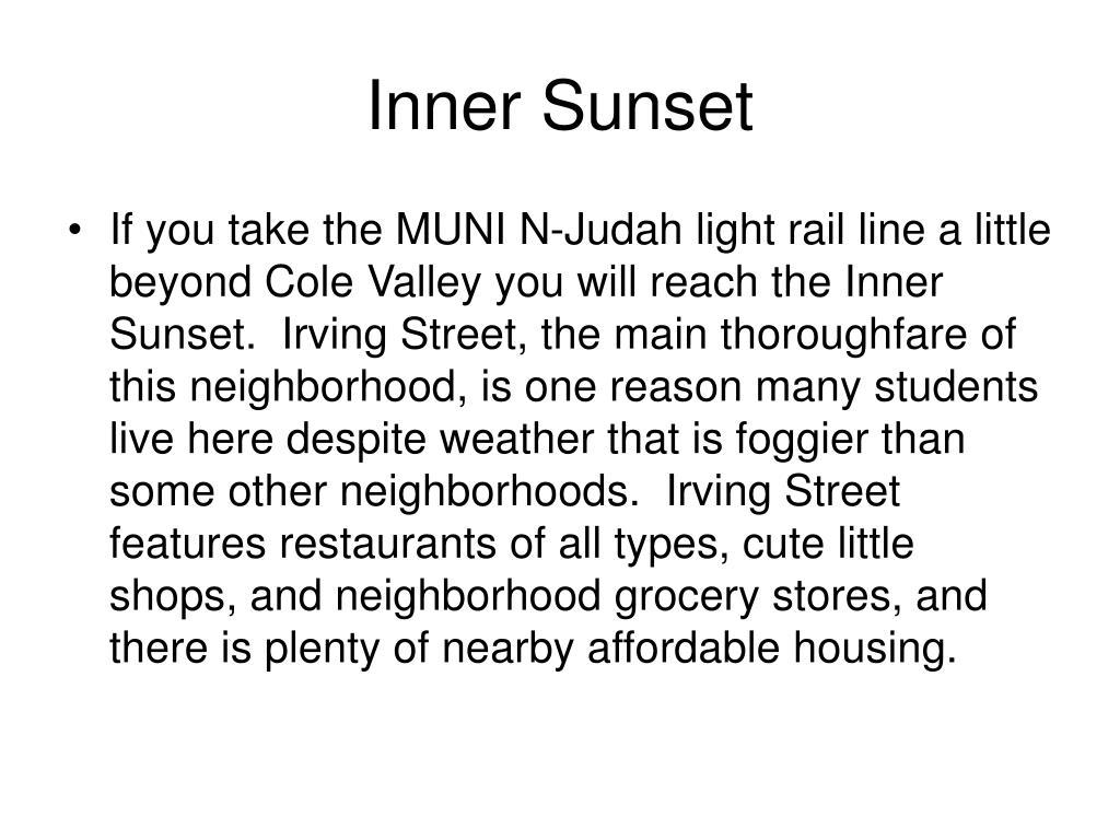 Inner Sunset