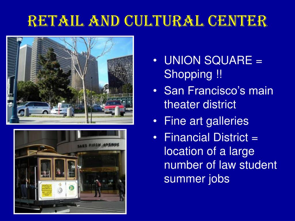 Retail and Cultural Center